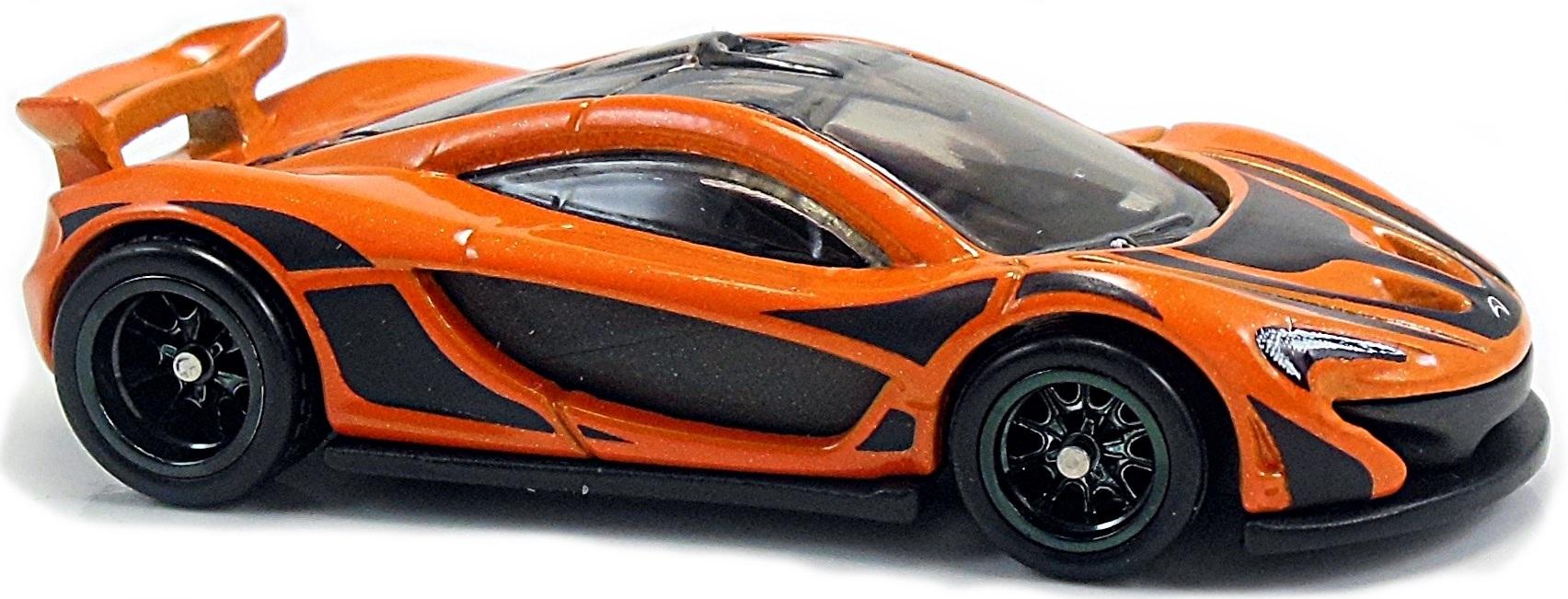 Orange And Black Mclaren P1 >> McLaren P1 - 70mm - 2015 | Hot Wheels Newsletter