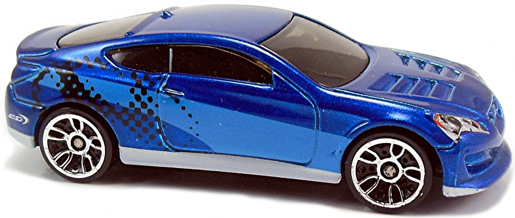 Hyundai Genesis Coupe 68mm 2011 Hot Wheels Newsletter