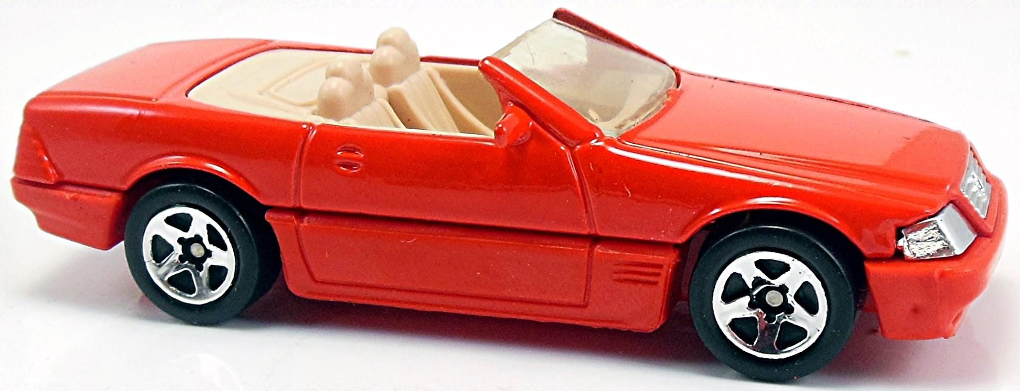 Mercedes benz sl 500sl 80mm 1991 2003 hot wheels for Hot wheels mercedes benz