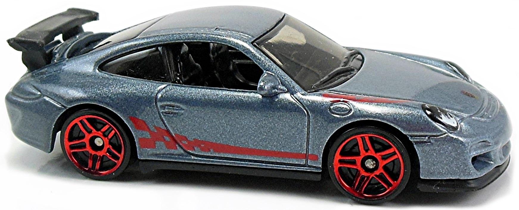 Hot Wheels Porsche 911 GT3 Cup w// red spoiler White