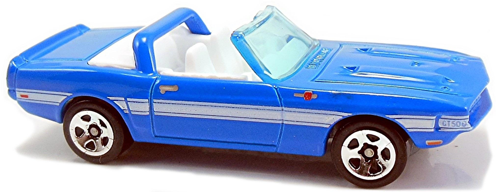 Hot Wheels 2011 21//244 Blue New Models 21//50-69 Shelby GT-500