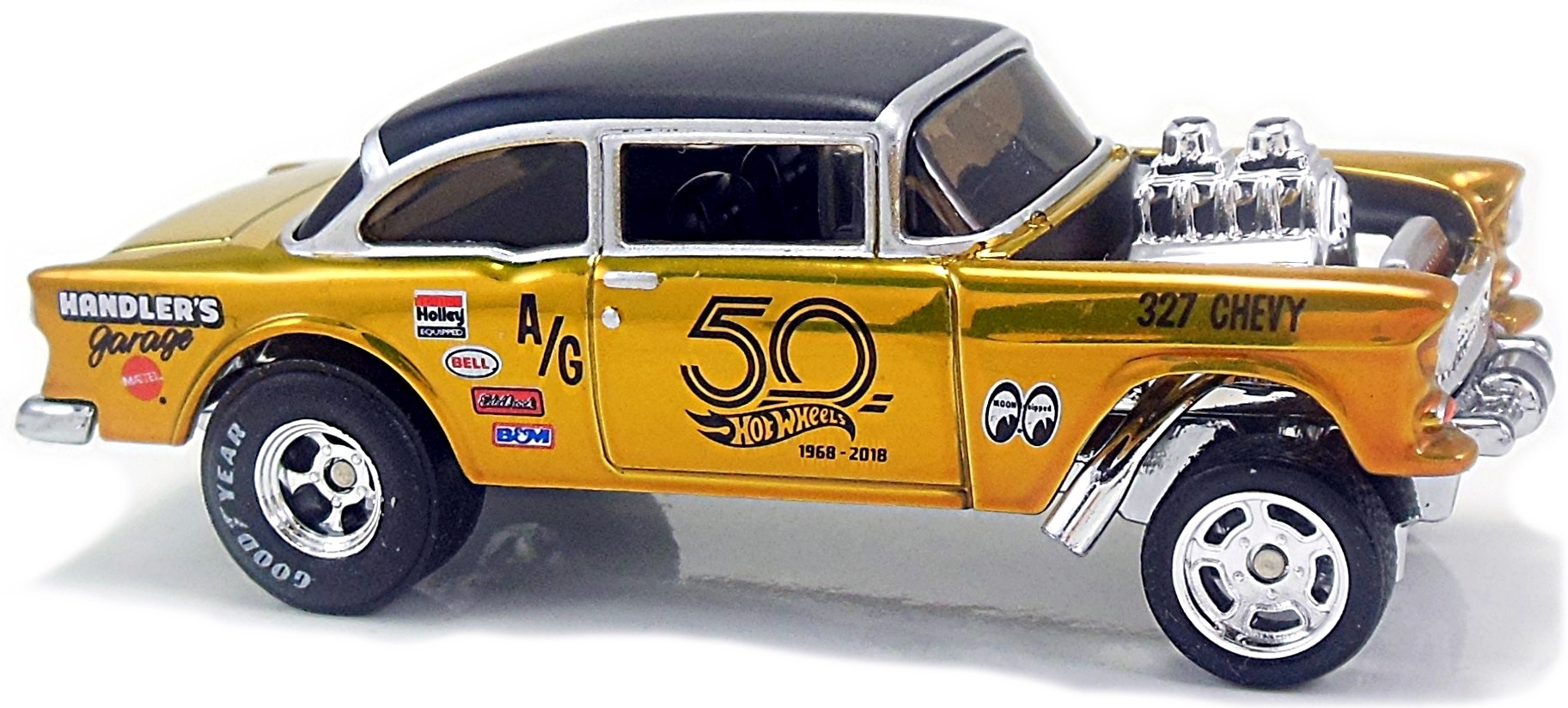 55 Chevy Bel Air Gasser - 73mm - 2013 | Hot Wheels Newsletter