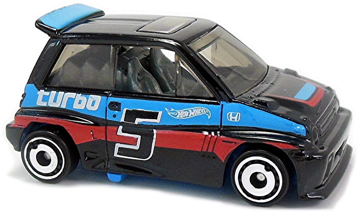 Hotwheels 2017 HW Speed Graphics /'85 Honda City Turbo II black