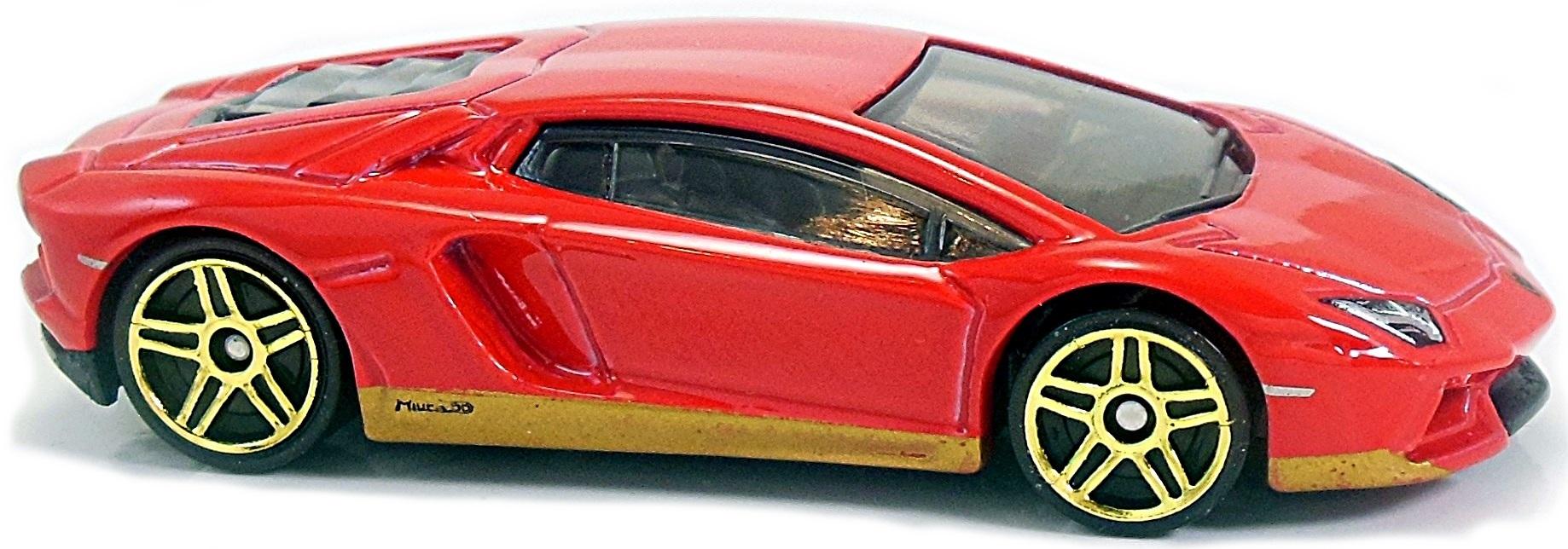 Aventador Miura Homage 72mm 2018 Hot Wheels Newsletter