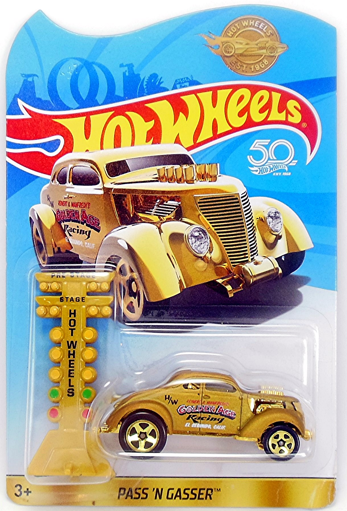 Gold Pass'n Gasser Promotion | Hot Wheels Newsletter