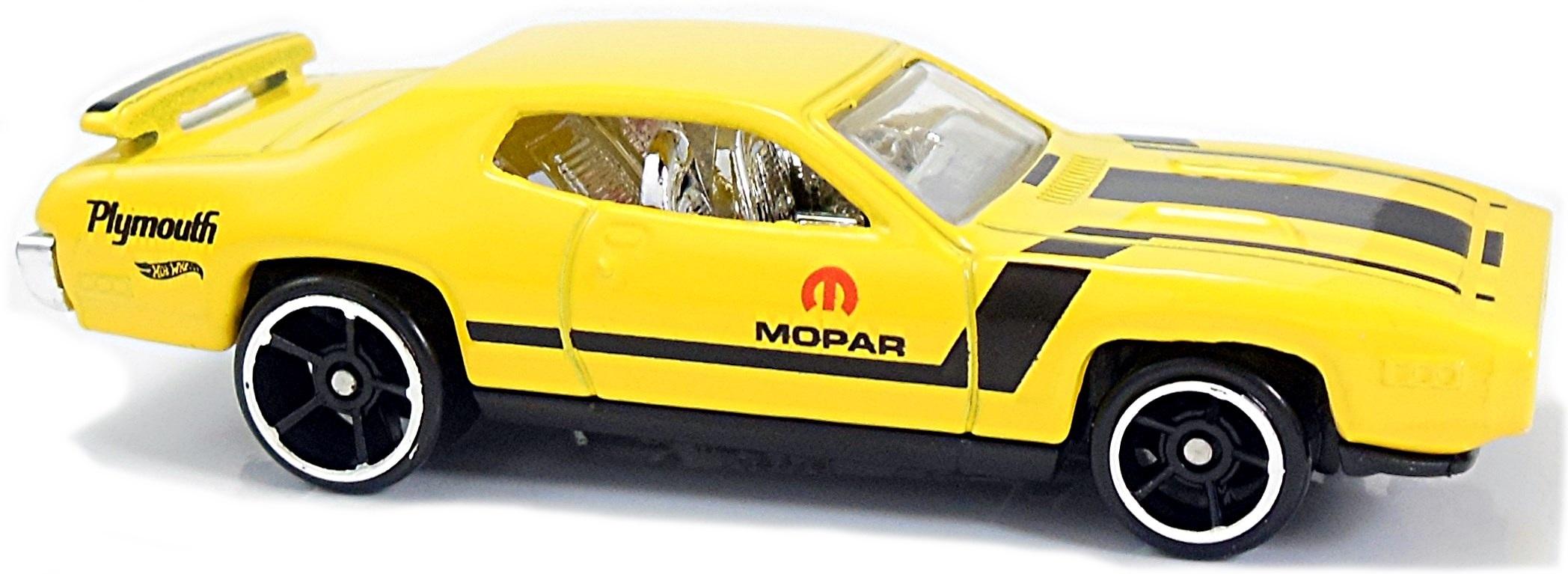 Hot Wheels /'71 Plymouth Road Runner HW Showroom Yellow