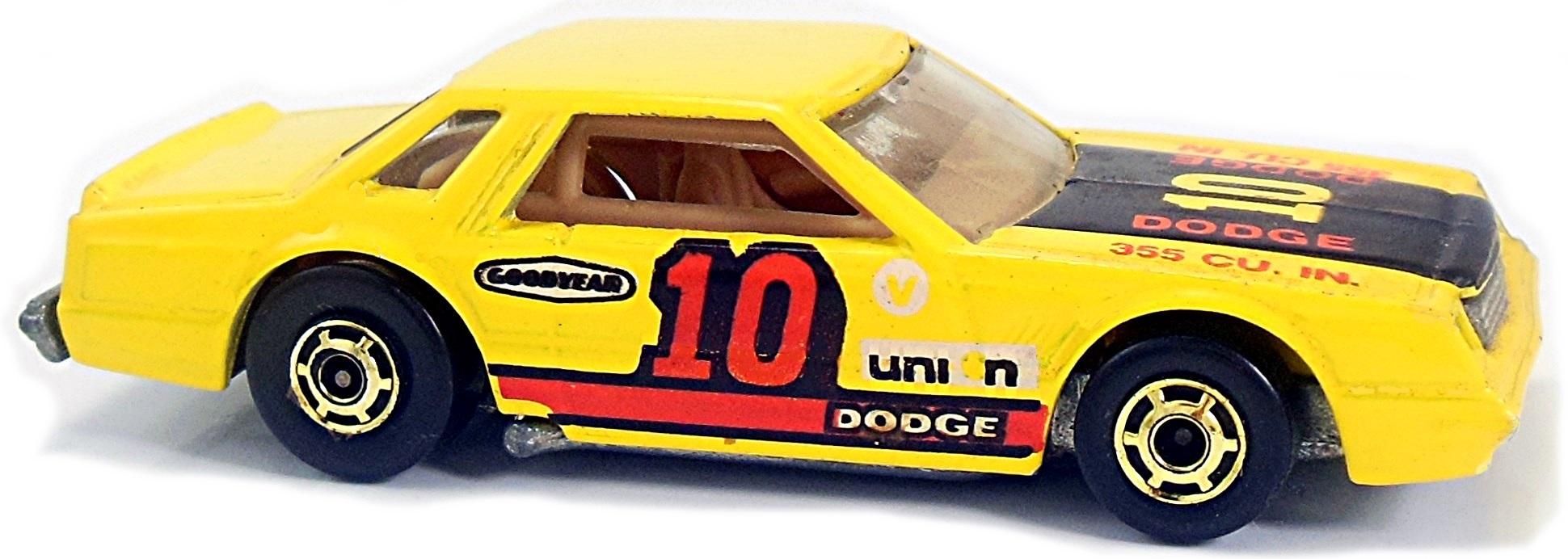 Mirada Stocker 81mm 1981 Hot Wheels Newsletter 1980 Dodge Interior B Yellow