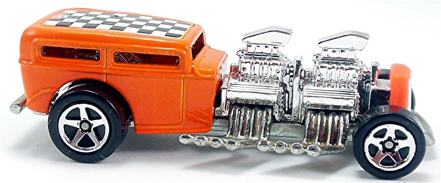 2005 Hot Wheels #094 Pin Headz Way 2 Fast silver engine